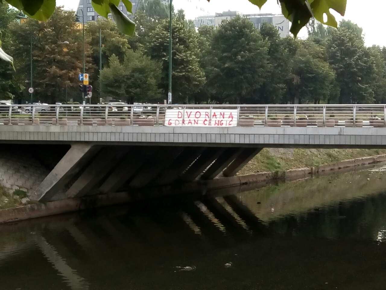 """Saopštenje OO DF Novo Sarajevo vezano za glasanje u OV Novo Sarajevo po pitanju imena Sportske dvorane """"Goran Čengić"""""""