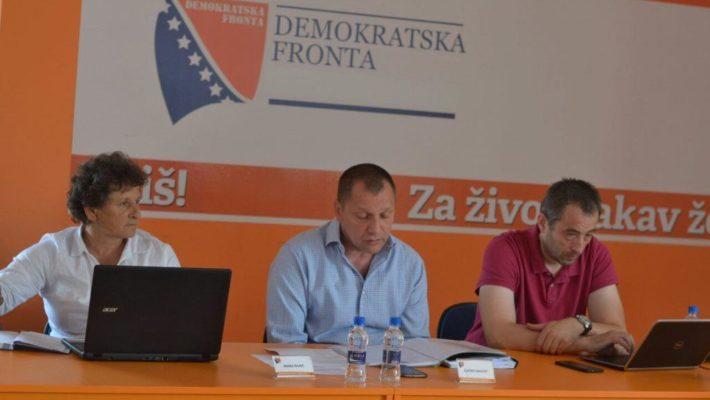 Održana 24. redovna sjednica Predsjedništva Demokratske fronte