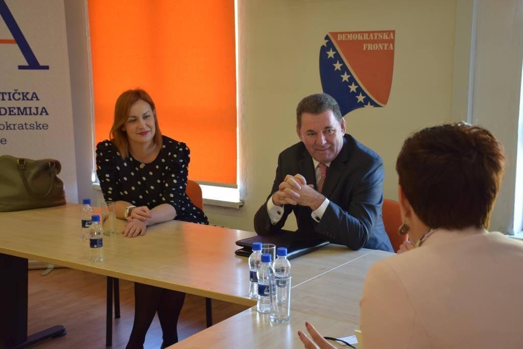 Sastanak sa NDI-em u Demokratskoj fronti