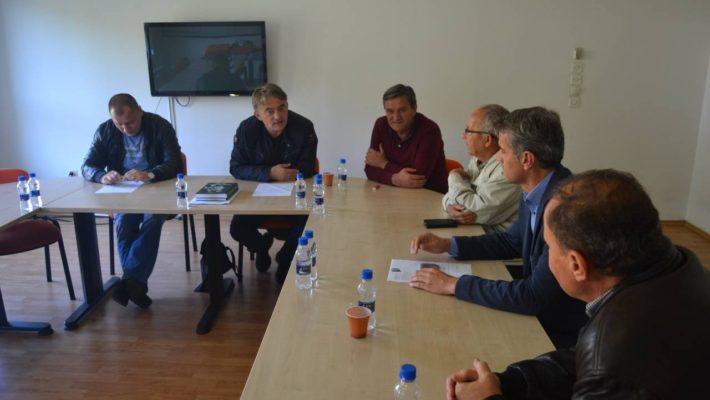 Sastanak predsjednika DF-a Željka Komšića sa Povjereništvom stranke iz Prijedora