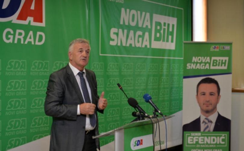 U JEDINSTVU JE SNAGA: Semir Efendić dodijelio poslove od 80.000 maraka svom stranačkom šefu Husi Ćesiru!