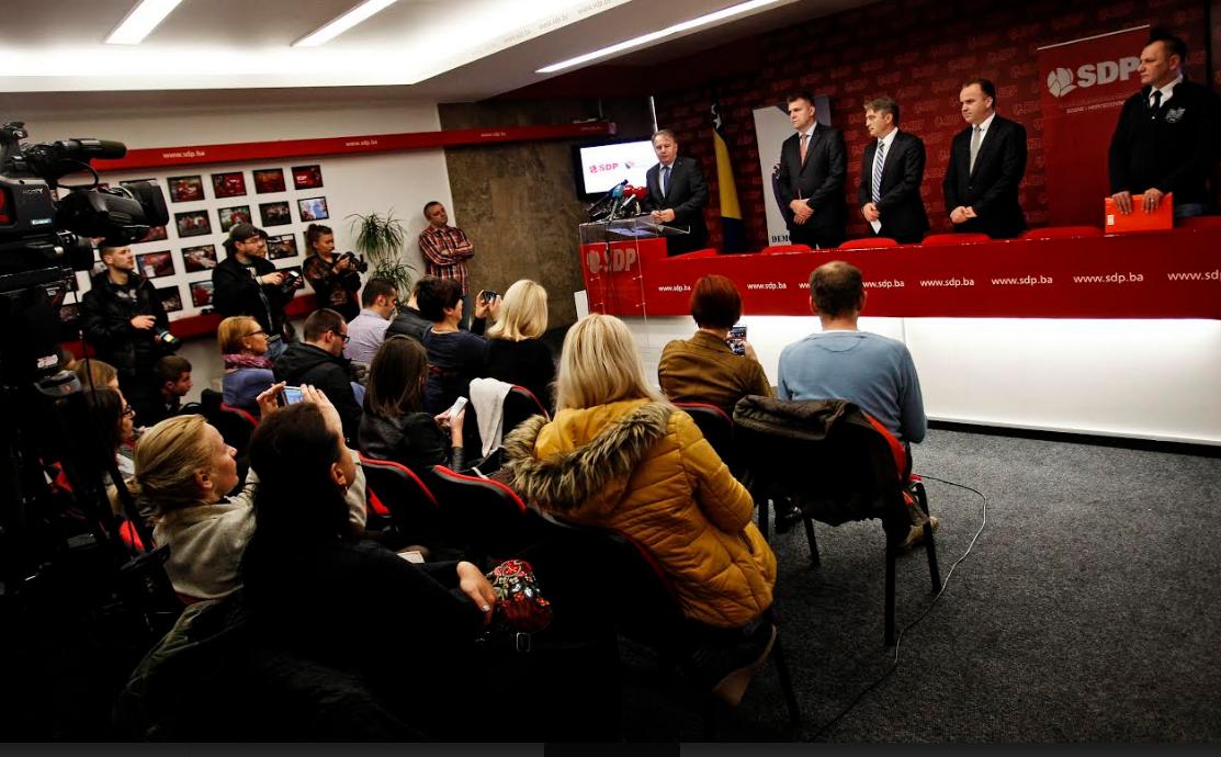 SDP i DF predstavili zajednički prijedlog Zakona o izbornim jedinicama i broju mandata PFBiH (VIDEO)