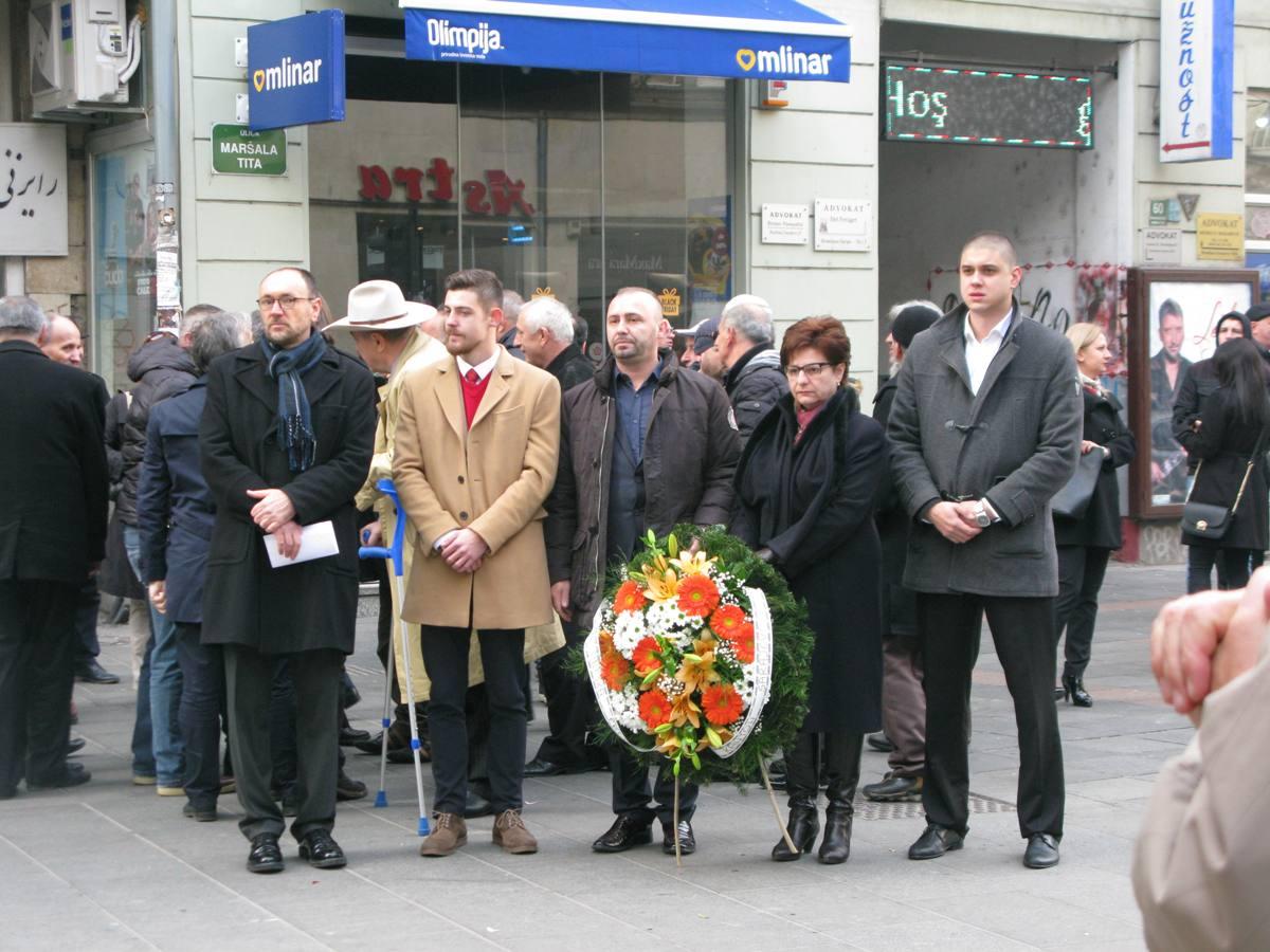 "Povodom Dana državnosti BiH: Članovi KO DF Sarajevo posjetili spomen-obilježje ""Vječna vatra"""