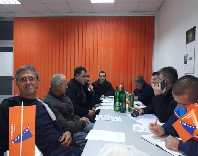 Održana konstituirajuća sjednica OO DF Kiseljak
