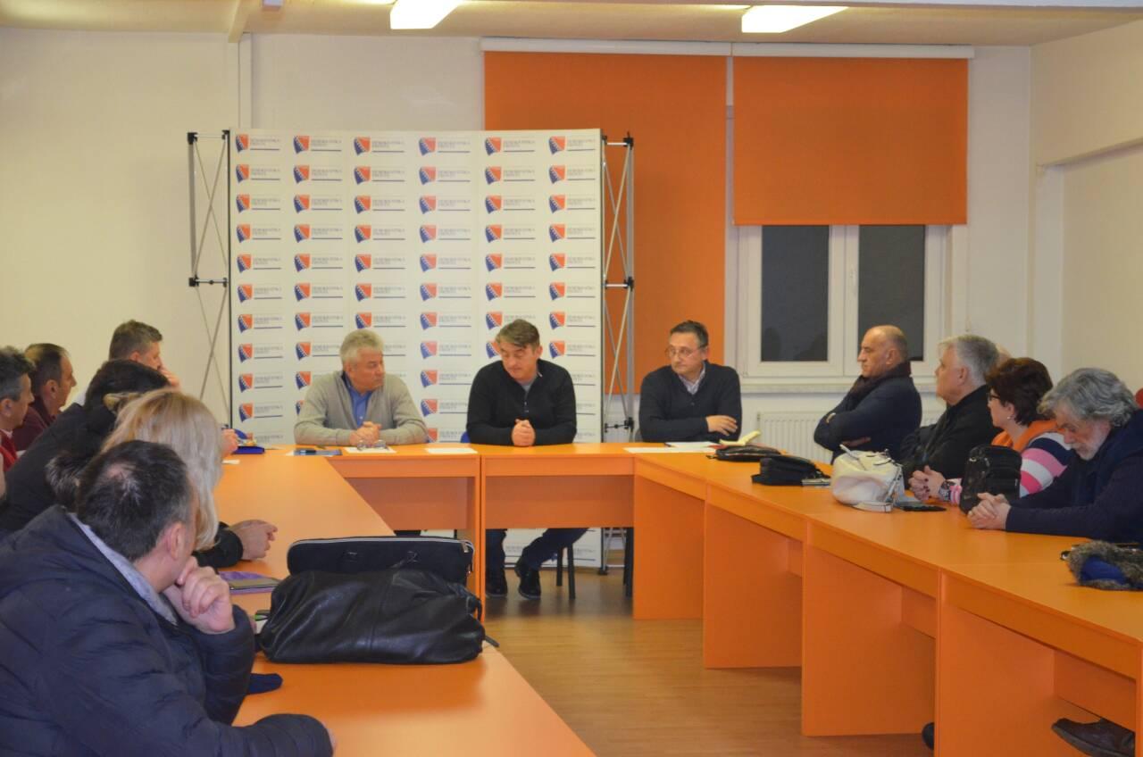 OO DF Novo Sarajevo: Održan sastanak Boračke organizacije