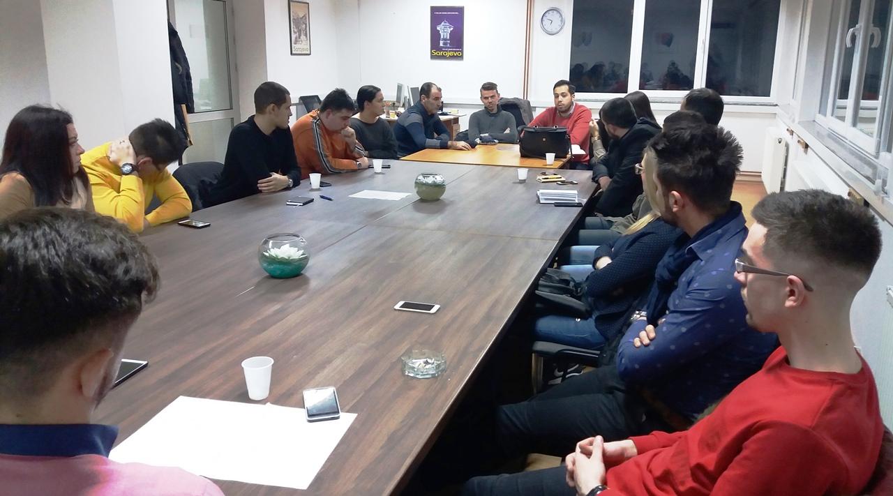 KO DF Sarajevo: Održana sjednica Odbora za pitanja mladih Političke akademije DF KS