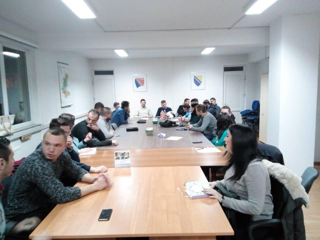 Održana 2. sjednica Odbora za pitanja mladih PA DF Kantona Sarajevo