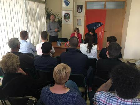 Hadžići: Održan radni sastanak Demokratske fronte