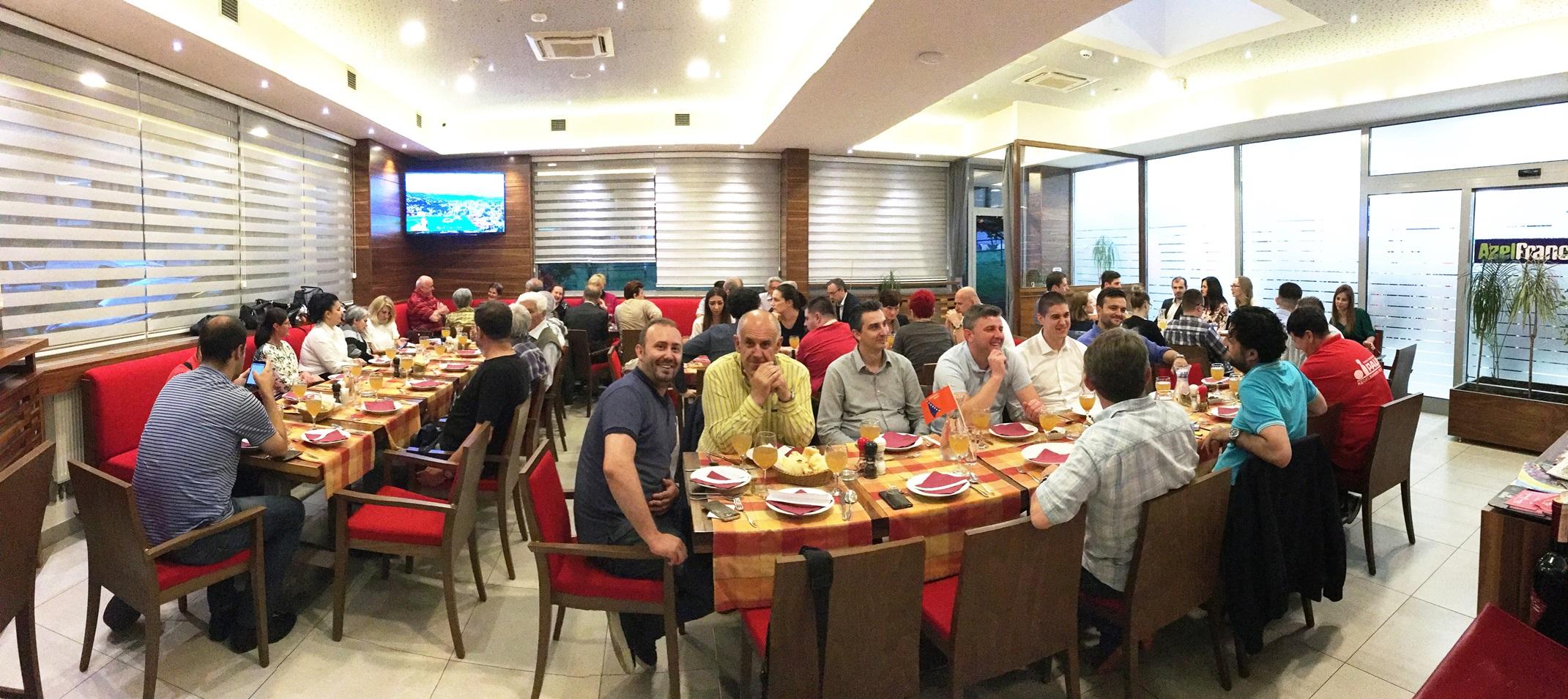 Organizovan zajednički iftar članova OO DF Centar