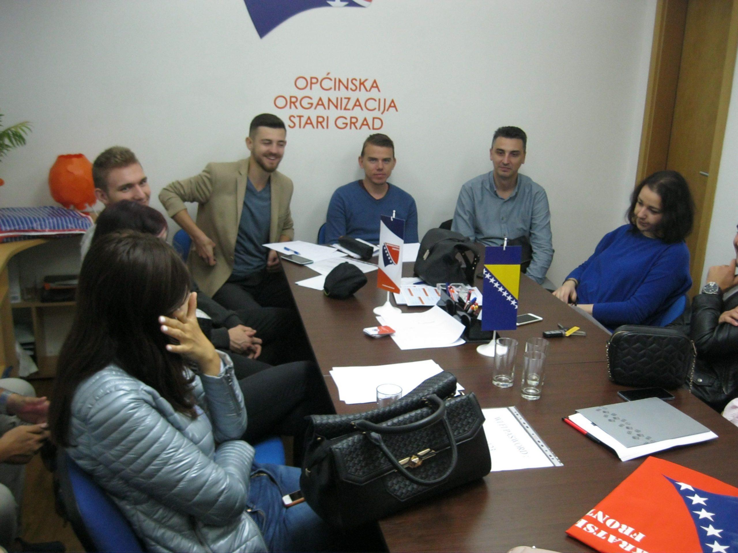 Održana druga sjednica Savjeta mladih Demokratske fronte KS