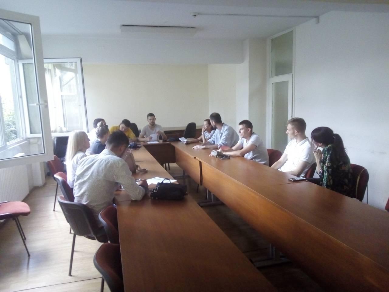 Održana sjednica Savjeta mladih KO DF Sarajevo