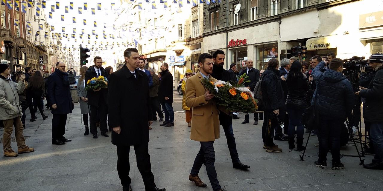 Delegacije Demokratske fronte obilježile Dan nezavisnosti BiH