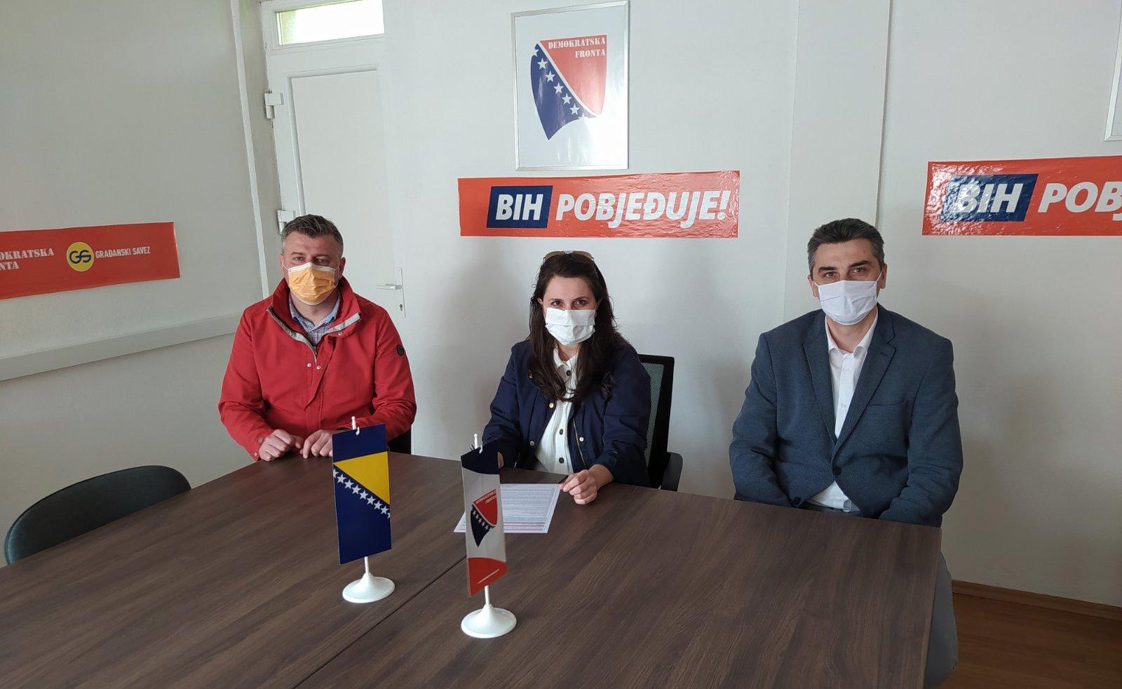 Elma Karišik pristupila Demokratskoj fronti BiH