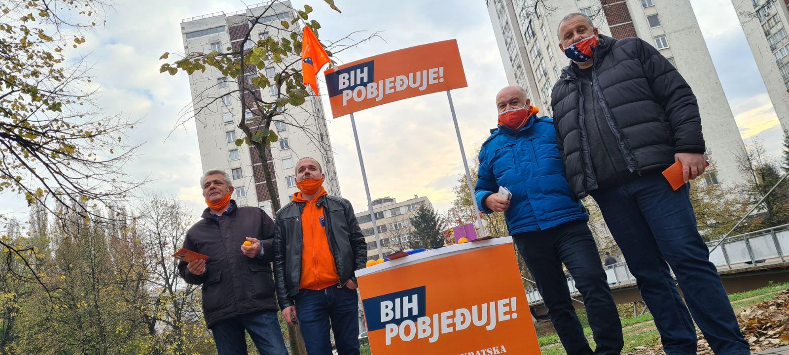 Danas kod mosta Ars Aevi, sutra šetnja kandidatkinja i kandidata općinom Novo Sarajevo