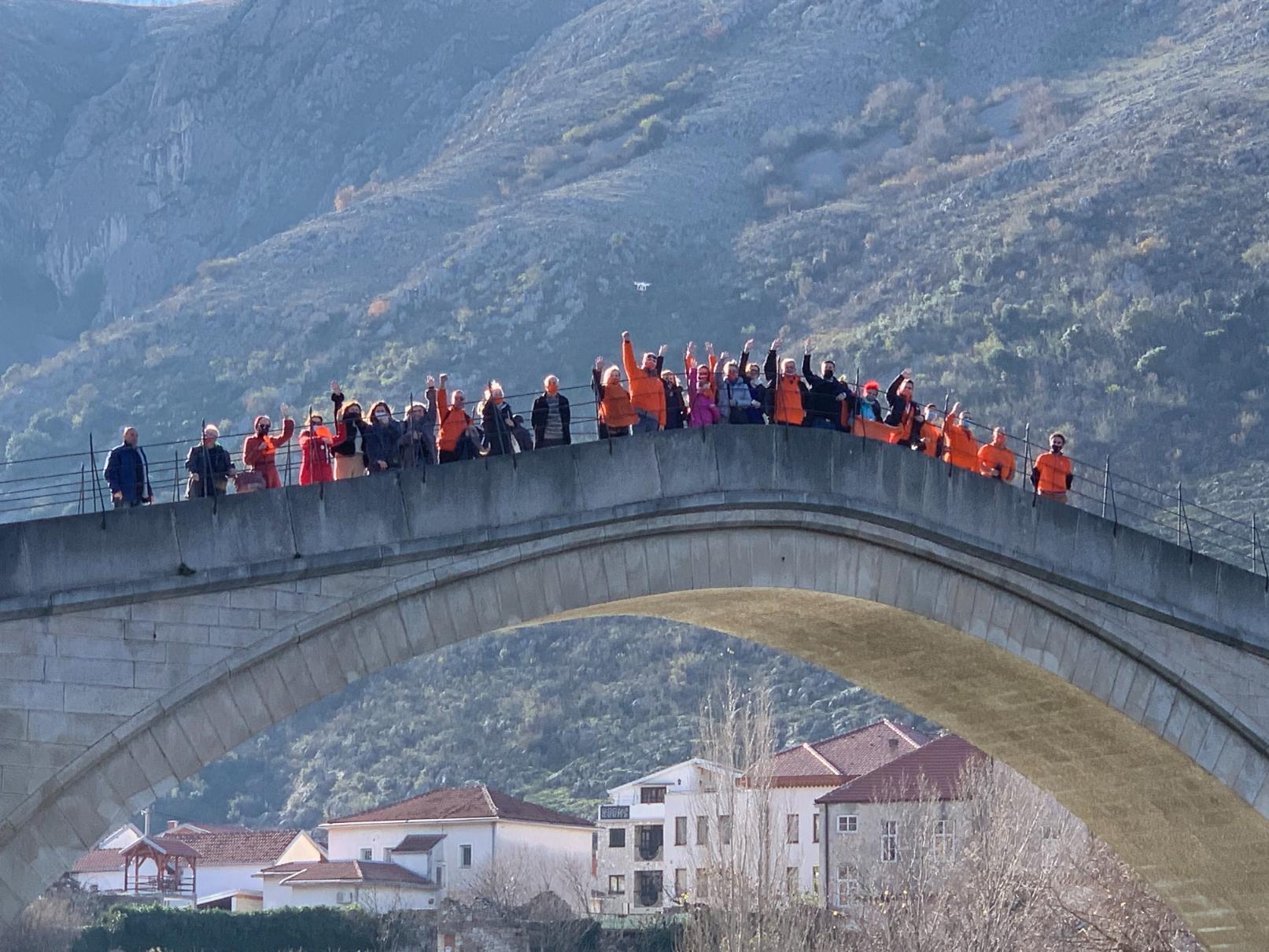 KO DF Sarajevo: Podrška Mostarcima akcijom 'Sve za Mostar – Izaberi Mostar!'