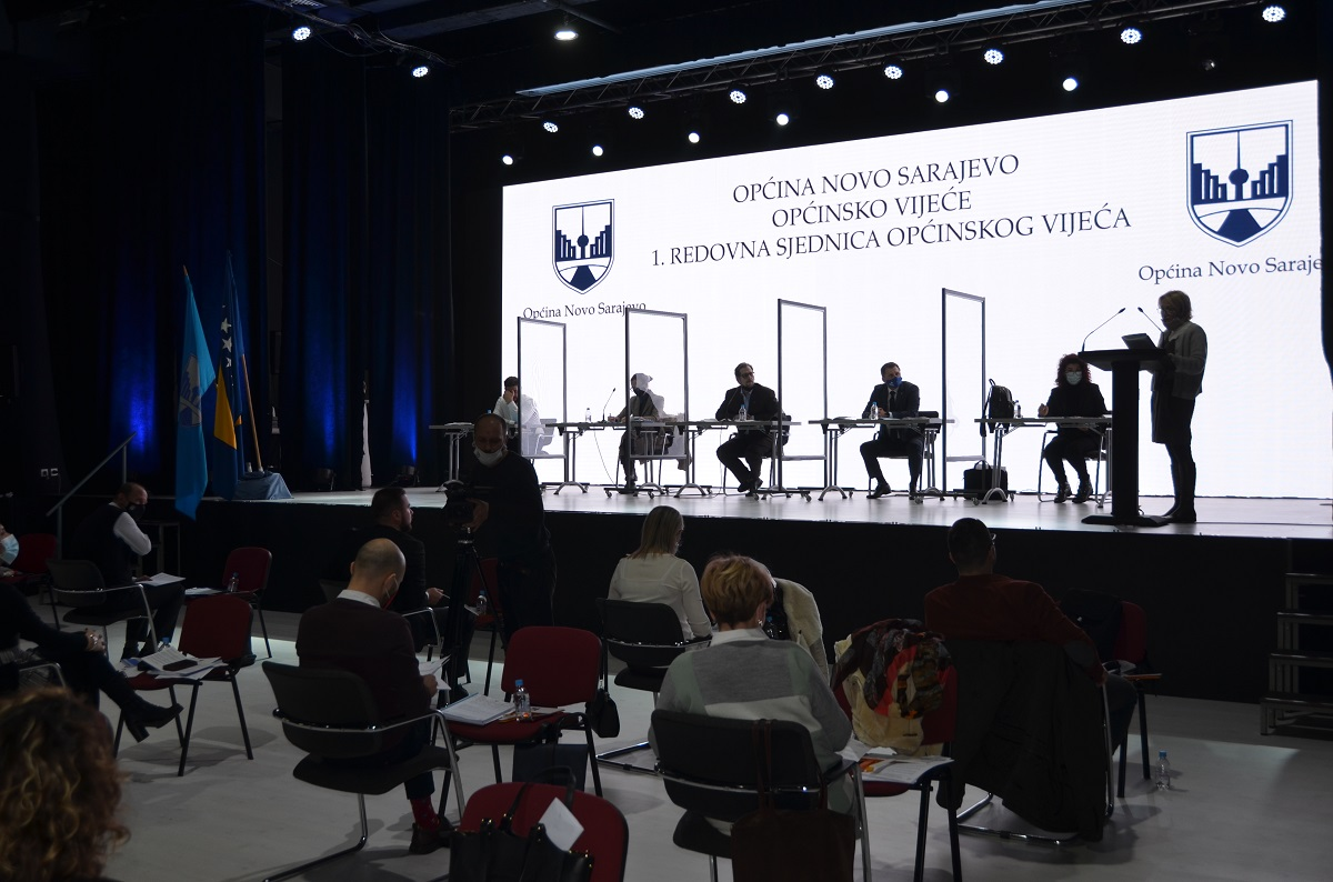 Održana 1. redovna sjednica Općinskog vijeća Novo Sarajevo – vijećnici Demokratske fronte predali četiri inicijative