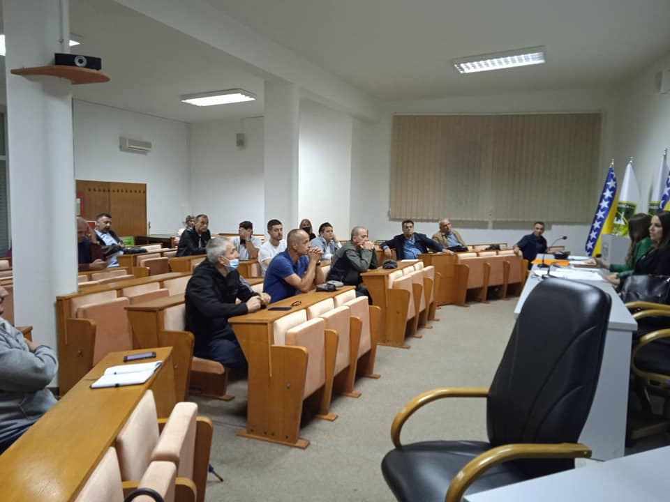 Održana 6. redovna sjednica Općinskog povjereništva Demokratske fronte Vogošća