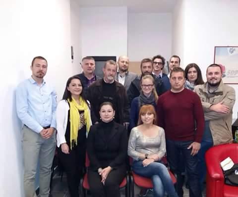 Održan inicijalni sastanak o zajedničkom djelovanju SDP, NS i DF Novi Grad Sarajevo