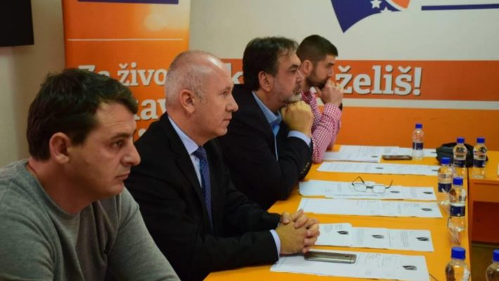 Održana 26. sjednica Predsjedništva Demokratske fronte