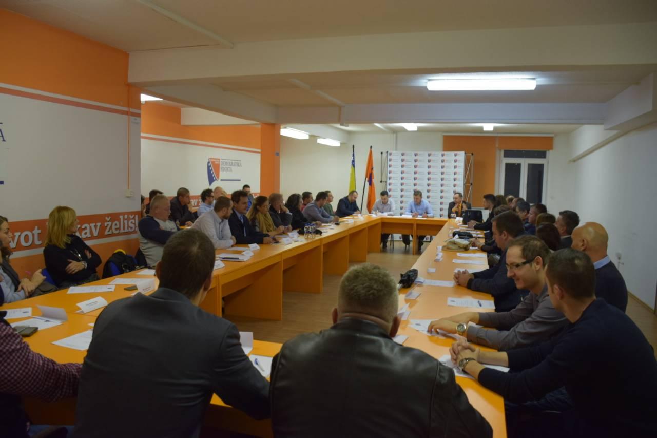 Održana konstituirajuća sjednica KO DF Kantona Sarajevo