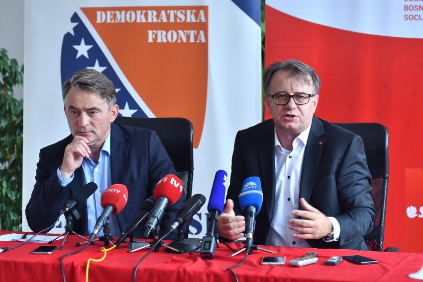 SDP i DF traže vanrednu sjednicu nakon upućenog Prijedloga zakona o izbornim jedinicima u FBiH