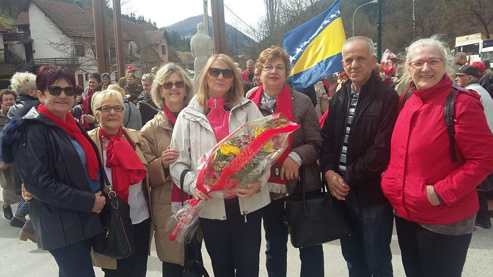 Delegacija DF Vogošća u Varešu: Obilježen Dan oslobođenja Vareša od fašizma