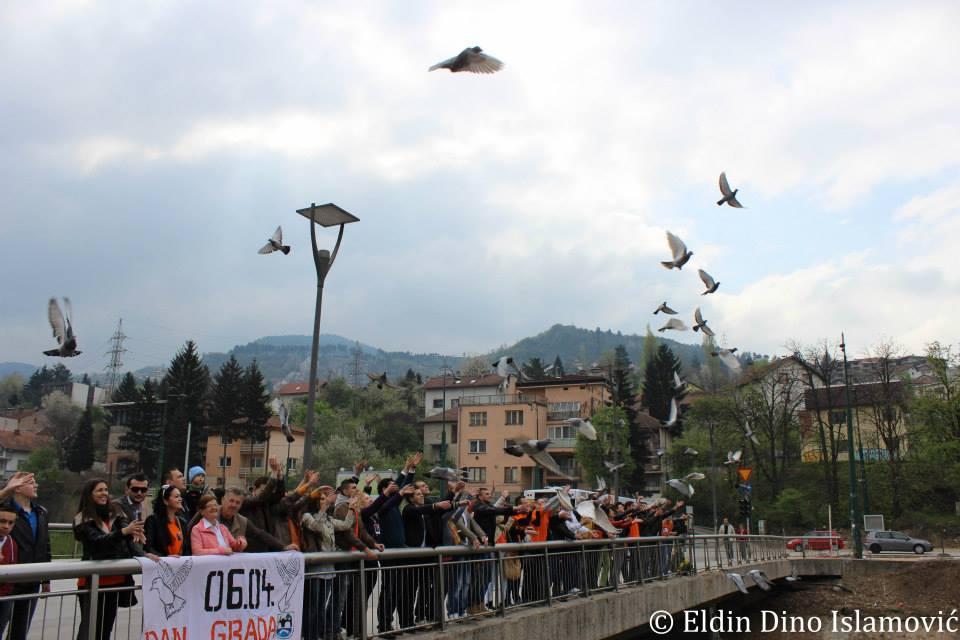 Povodom Dana grada Sarajeva: Poziv na druženje članova i članica DF u Visonovom šetalištu